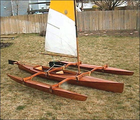 Kayak - trimaran, trying to find the best first toy - Boat Design ...