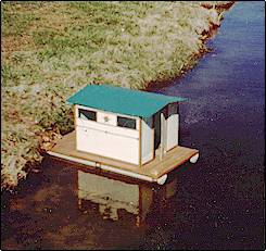 Small Houseboat house boat Designs My Small World Houseboat