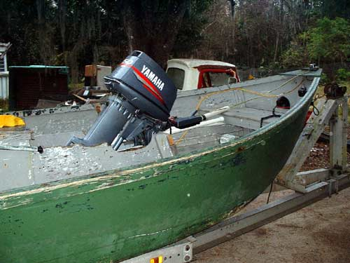 Deck Boat Inboard Motor