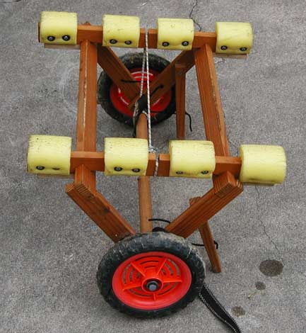 An Easy Canoe/Kayak Cart