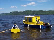 Duckworks Lake Pepin Messabout - Bolger micro trawler boats