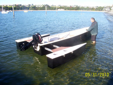 ... Boat Plans further Homemade Pontoon Boat Plans. on one man duck boat