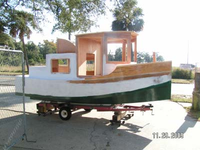 Duckworks March Reports - Bolger micro trawler boats