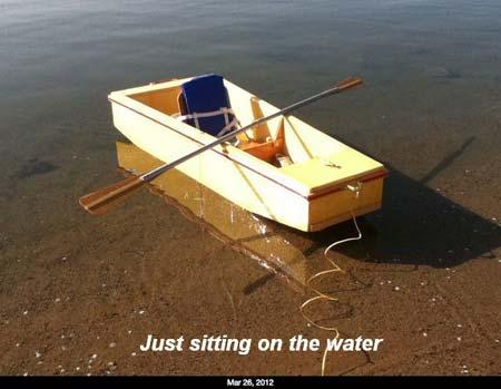 Duckworks Foam Boat