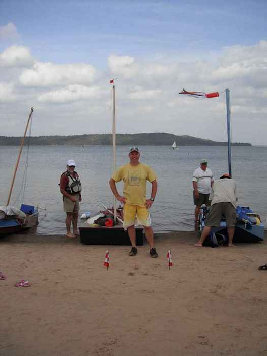 Rick Landreville from Canada at last year's Sail Oklahoma boat jamboree