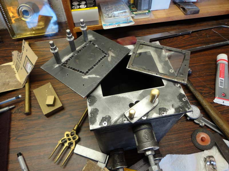 I was able to source a piece of stove glass quite cheaply from the local  glass supplier - enough to make a few spares. - Duckworks - Homemade Wood Stove For A Small Boat