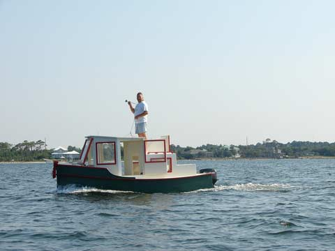 Duckworks July Reports - Bolger micro trawler boats