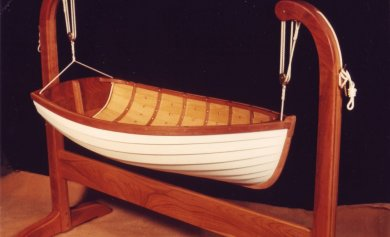 Wooden Boat Cradle Plans