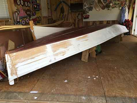 we are restoring an 1880s bateau designed by capt t p leathers of the steamboats natchez fame she looks a lot like lower mississippi river skiffs of